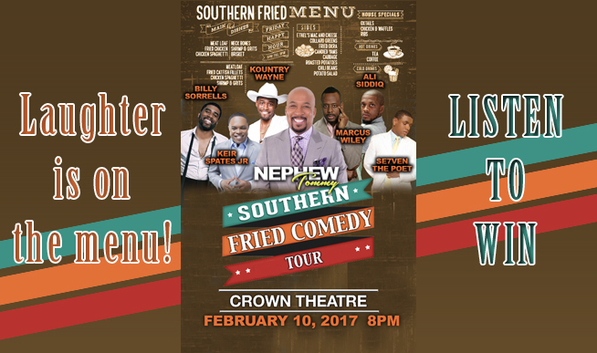 Southern Fried Comedy Tour Fayetteville Nc