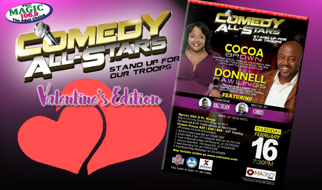 COMEDY ALL STARS: VALENTINES DAY EDITION