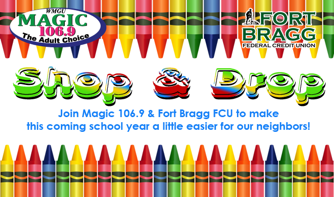 Shop & Drop: Helping out neighbors with school supplies!