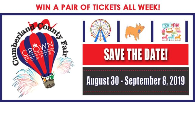 WIN TIX TO THE CUMBERLAND COUNTY FAIR