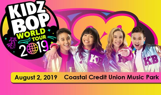 Friday, August 2nd it's party time! Coastal Credit Union Music Park is the place, and you are the guest!! Jeff Davis has a chance for you to score tickets all week!
