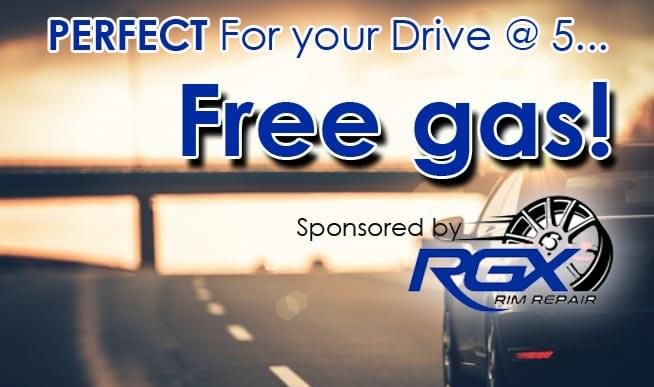 We know  how we could allll use some free gas every now & then, right?   We've teamed up with  RGX Rim Repair to fill you up!!   And give you $20 to spend at RGX!