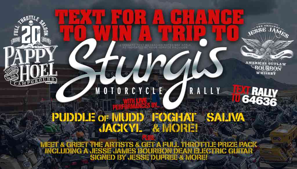 Your Chance to Win a Trip to Sturgis
