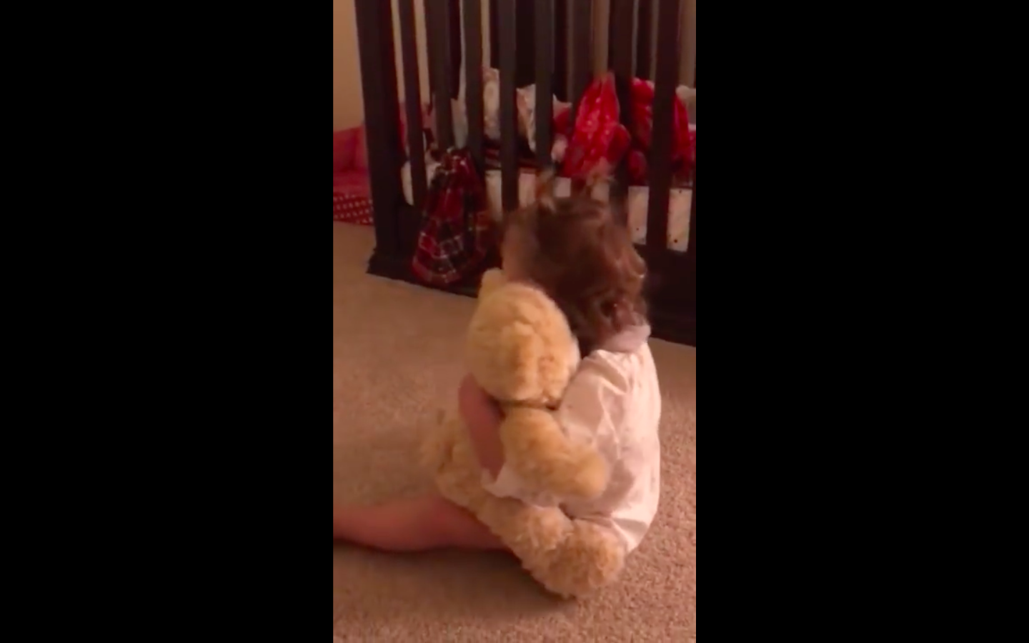 Baby Girl Hears Her Deployed Military Dad's Voice In Teddy Bear