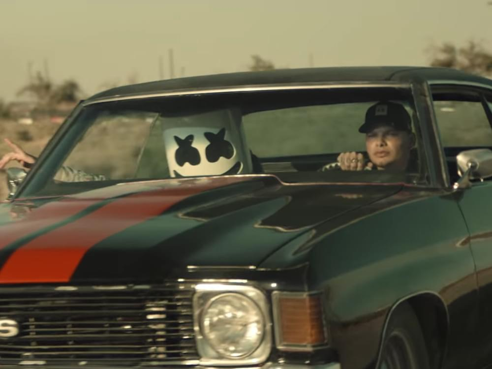 """Kane Brown & Marshmello Drop Runaway Video for """"One Thing Right"""