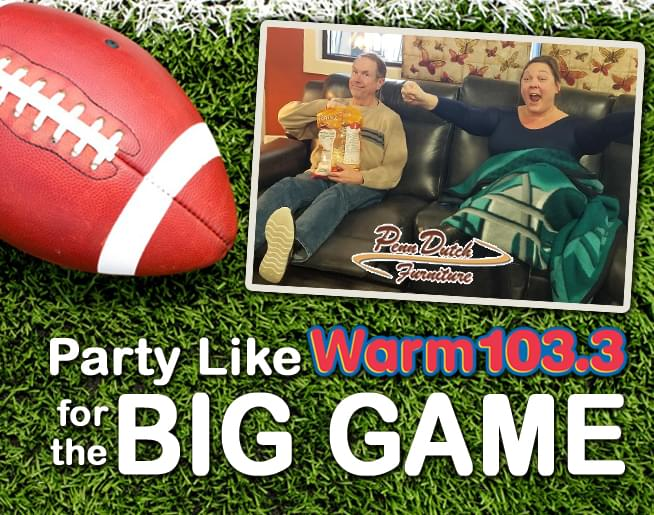 Win WARM 103.3's Big Game Party