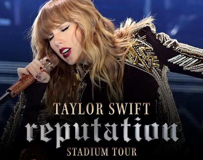 Win Tickets to Taylor Swift's Reputation Tour in Philly on July 13th