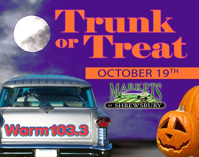 Join us for Trunk Or Treat – Register Your Car