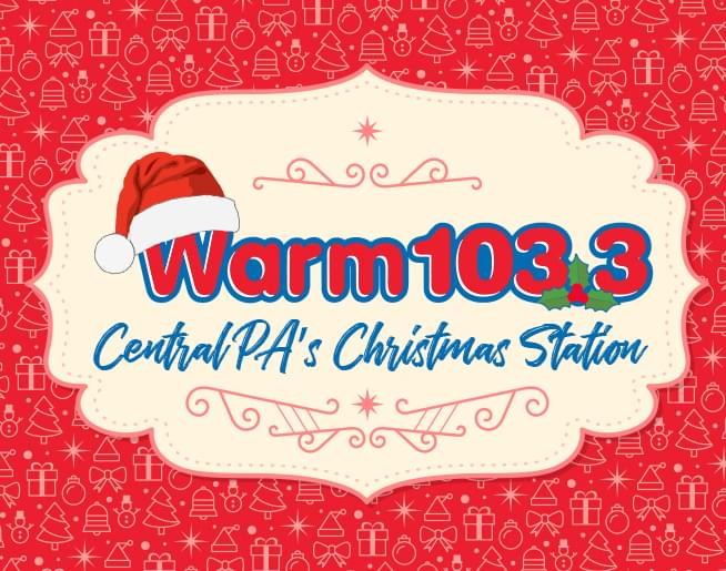 we have flipped the switch and christmas music is back on warm 1033