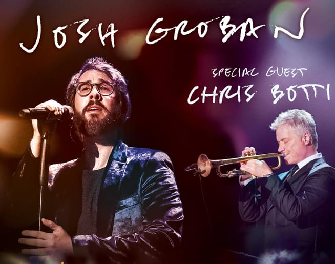 Josh Groban at GIANT Center on June 21