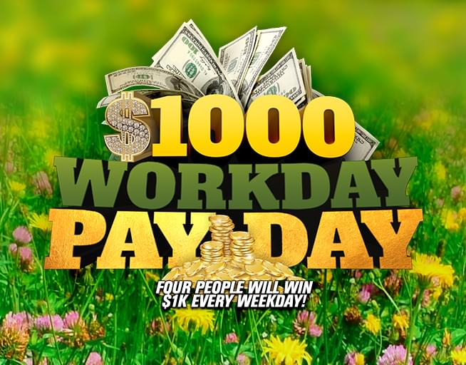 4k Spring Workday Payday