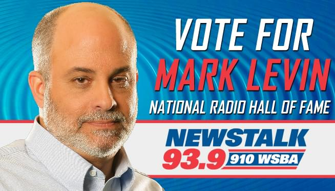 Vote Mark Levin in the National Radio Hall of Fame