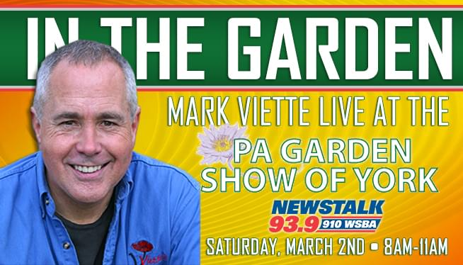 Mark Viette from 'In The Garden' is coming to the PA Garden Show of York