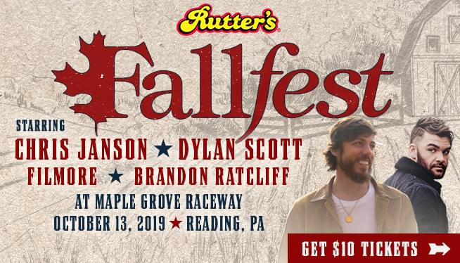 Rutter's Fallfest on October 13th at Maple Grove Raceway
