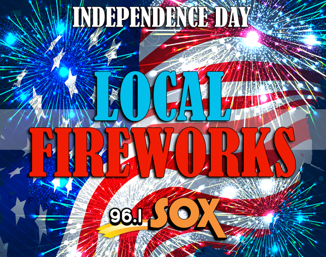 Local Independence Day Fireworks Displays