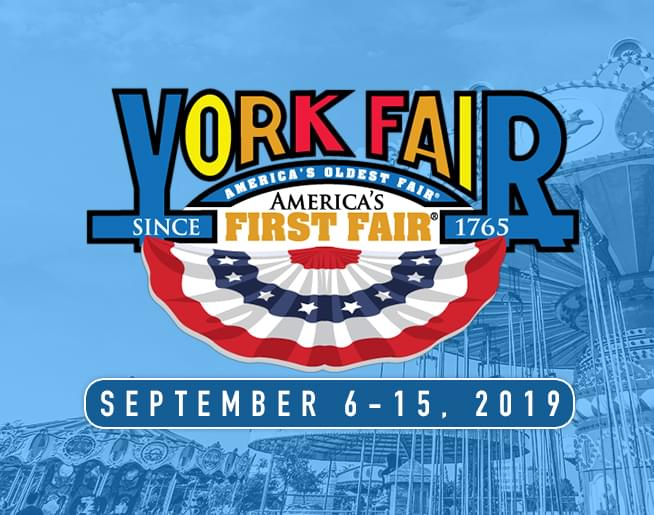 Join 96.1 SOX at the York Fair!