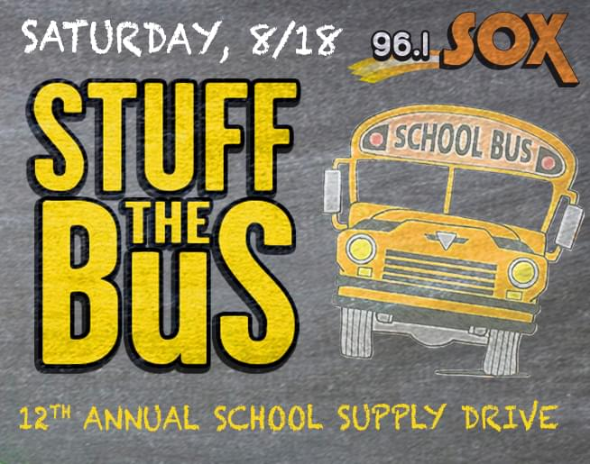 Help us Stuff the Bus on August 18th!