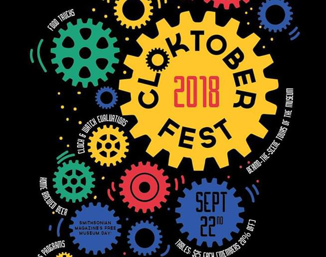 Join us for Cloktoberfest at the National Watch & Clock Museum