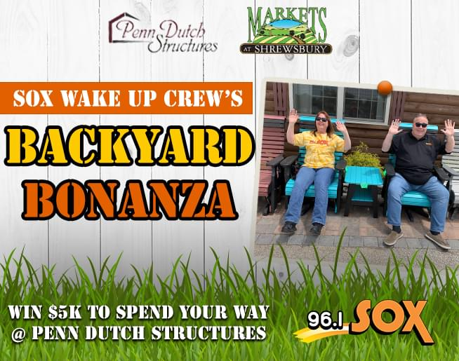 Get Qualified for the Wake Up Crew's Backyard Bonanza!