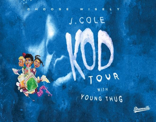 Register to Win J. Cole KOD Tour Tickets