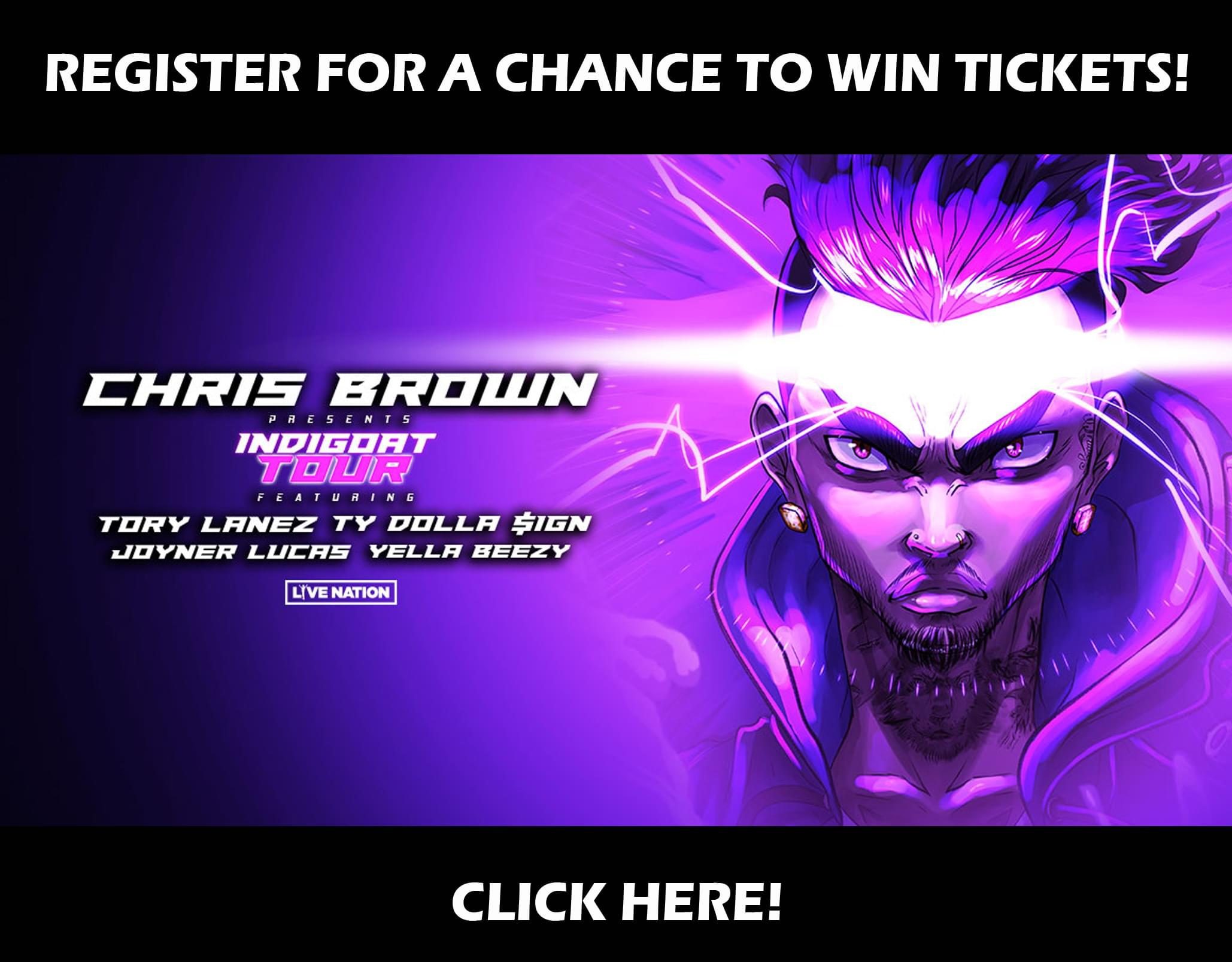 Win Chris Brown Tickets