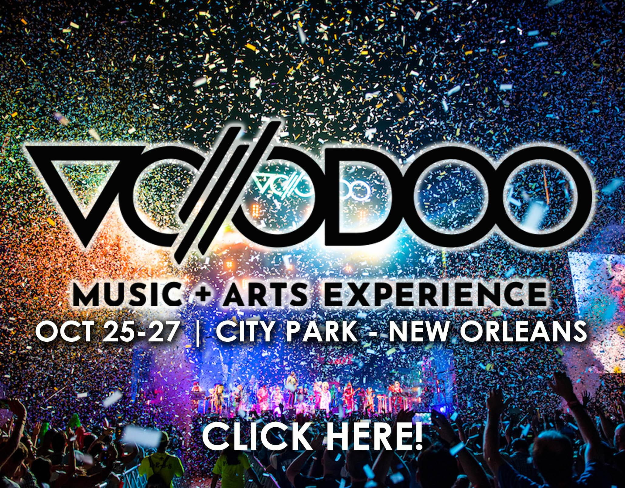 Win Voodoo Music + Arts Experience Passes