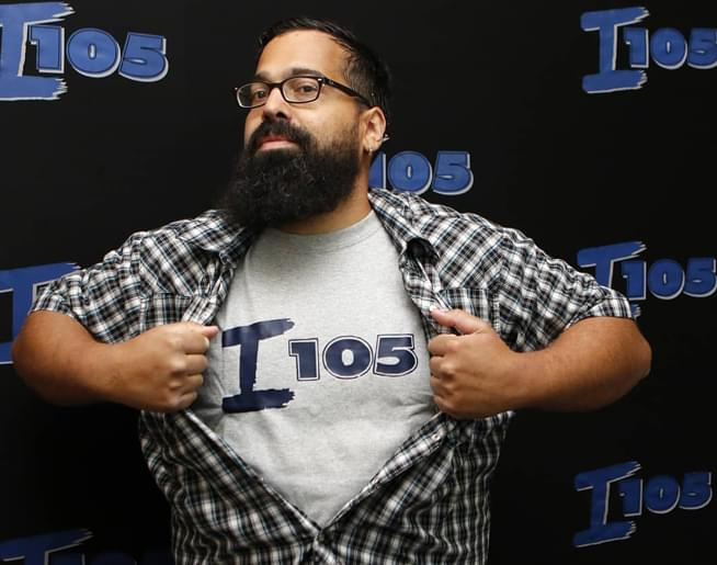 AJ – Afternoons from 2pm-7pm on I105