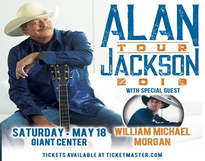 Alan Jackson at GIANT Center on May 18