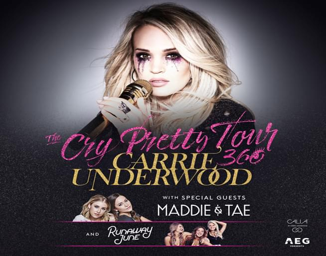 Carrie Underwood at GIANT Center on June 13