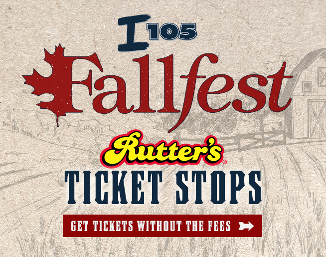 Buy Fallfest without the fees at our Rutter's Ticket Stops