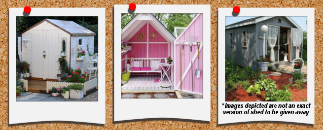 12 shed from homecraft builders in saginaw that esther will be able to decorate with all the style and flair she wants itu0027ll be a cool backyard retreat - She Shed