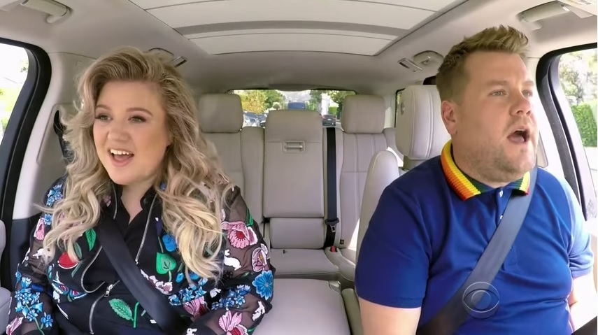 Kelly Clarkson Carpool Karaoke