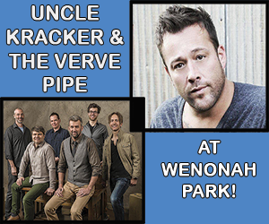 Uncle Kracker & The Verve Pipe at Wenonah Park