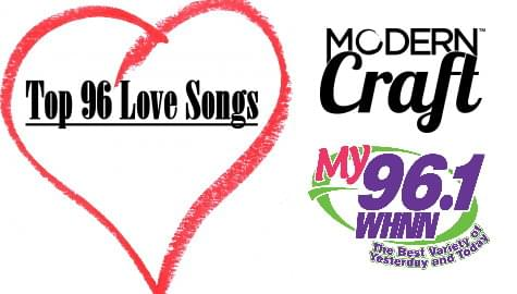 Top 96 Love Songs on My 96.1