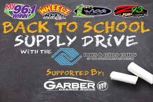 Back to School Supply Drive!