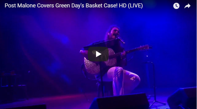 POST MALONE COVERS GREEN DAY'S BASKET CASE
