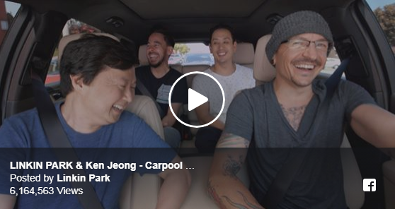 LINKIN PARK CARPOOL KARAOKE – VIDEO