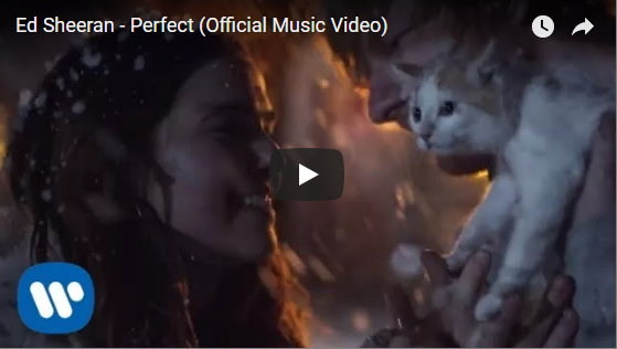 ED SHEERAN – PERFECT || VIDEO