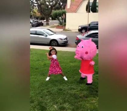 Peppa Pig Horrified! [VIDEO]
