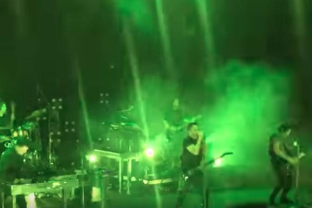 Watch Nine Inch Nails Perform 'The Perfect Drug' Live for The First Time Ever [VIDEO]