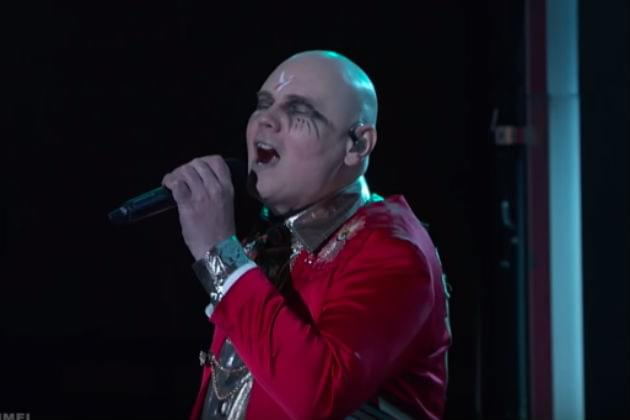 Watch The Smashing Pumpkins Perform 'Silvery Sometimes (Ghosts)' on Jimmy Kimmel Live! [VIDEO]