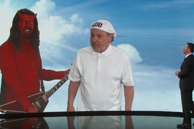 Dave Grohl is Satan and Billy Crystal is God in Jimmy Kimmel Sketch [VIDEO]