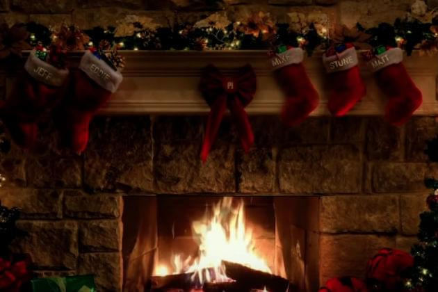Celebrate Christmas With This Pearl Jam Yule Log [VIDEO]