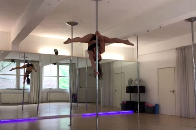 Watch This Pole Dancer Get a Concussion After Falling On Her Head [VIDEO]
