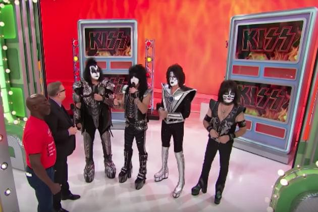 Kiss Appear On Rock and Roll-Themed Episode of 'The Price Is Right' [VIDEO]