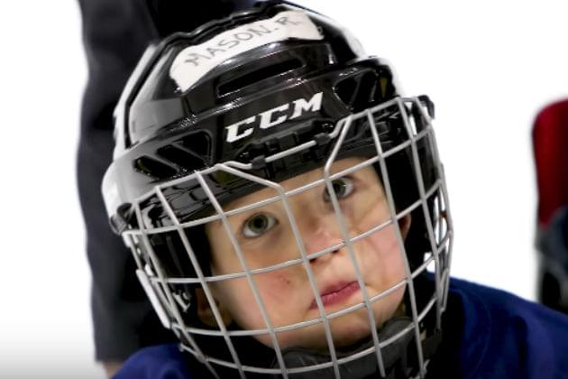This Guy Mic'd Up His 4-Year-Old During Hockey Practice and It's Hilarious [VIDEO]