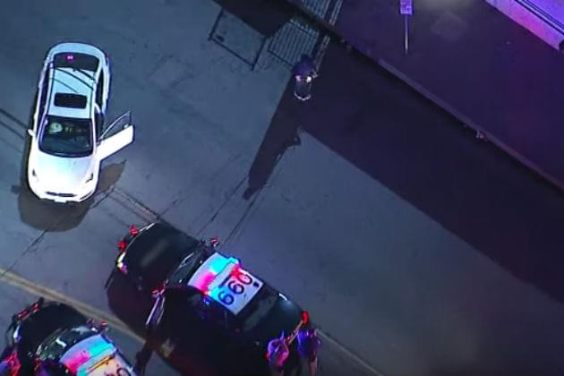 This Car Chase Ends with the Suspect Breakdancing in the Middle of the Street [VIDEO]