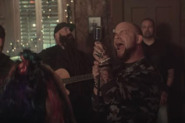 Five Finger Death Punch Welcomes Special Guests for 'Blue On Black' Cover [VIDEO]