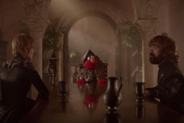 Sesame Street's Elmo Attempts to Squash Beef Between Cersei and Tyron [VIDEO]