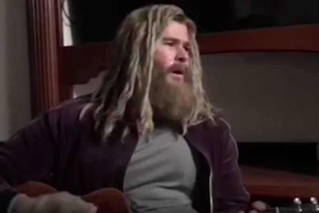 Fat Thor Performs Hurt